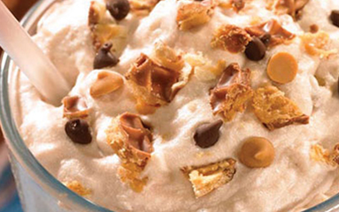 Nutty Buddy Bar Milk Shake