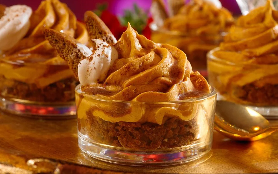 Gingerbread Pumpkin Mousse