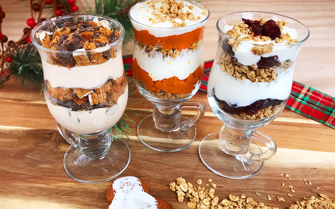 One. Two. Three Holiday Parfait Recipes