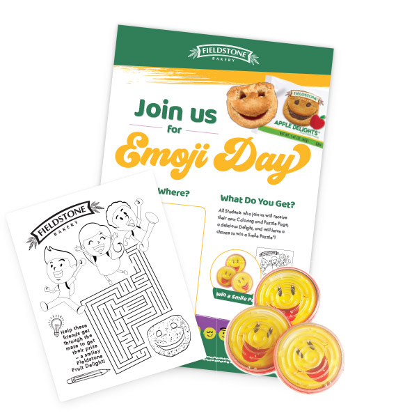 Emoji Day Breakfast Kit