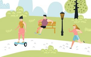 Celebrate National Physical Fitness and Sports Month by getting active with your family.