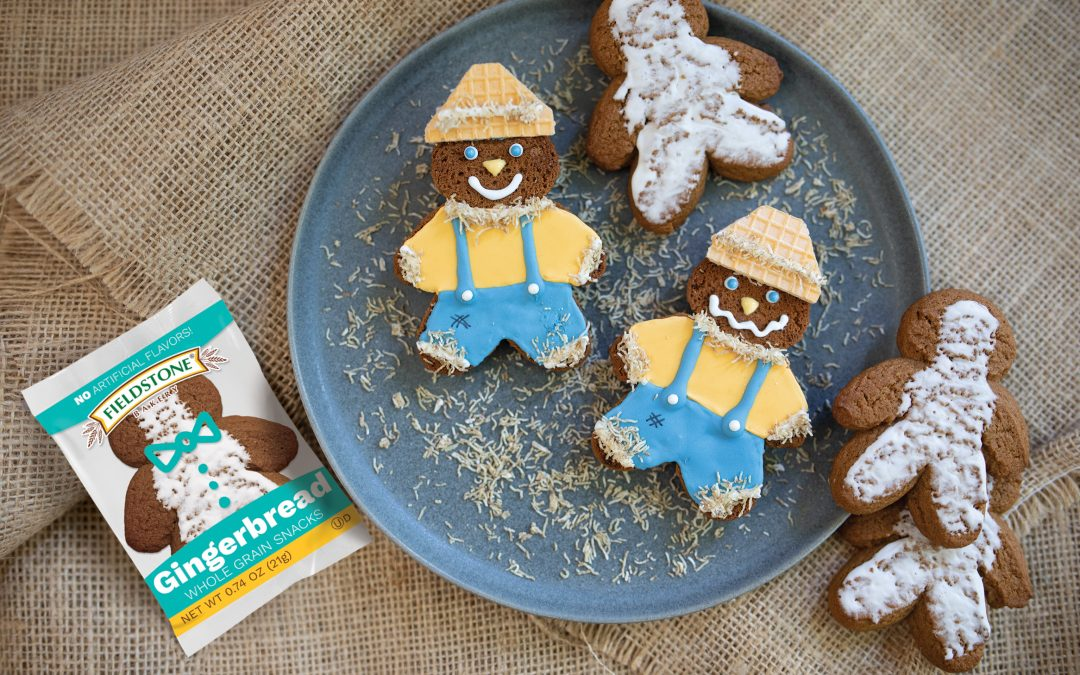 Gingerbread Scarecrows